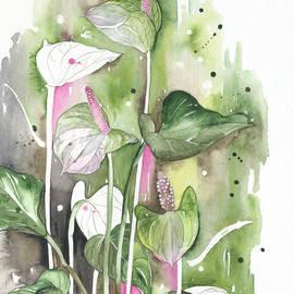 Elena Yakubovich - Flower Anthurium 04 Elena Yakubovich