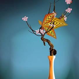 GuoJun Pan - Flower arrangement 19