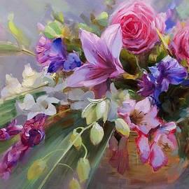 Alexey Shalaev - Flower baskets for the beloved.