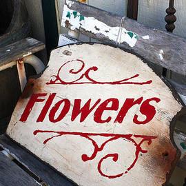 Art Block Collections - Flower Bench