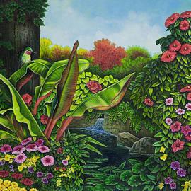 Michael Frank - Flower Garden VI