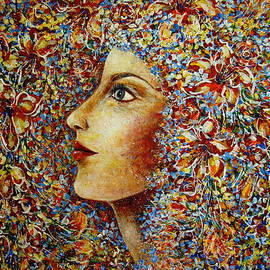 Natalie Holland - Flower Goddess.