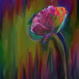 Lenore Senior - Flower in Flames