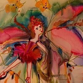 Judith Desrosiers - Flower in the rain
