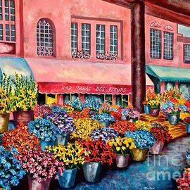 Jan Law - Flower market in Nice France