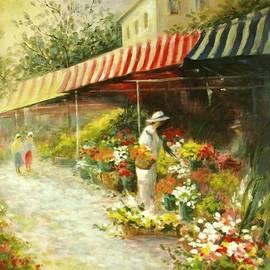 Madeleine Holzberg - Flower Market