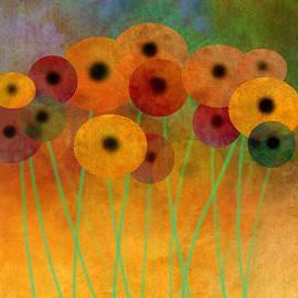 Ann Powell - Flower Power Seven abstract art