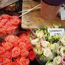 Connie Bazinet - Flower Stand Amsterdam