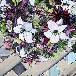 MaryEllen Frazee - Flower Wreath