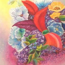 Janis  Tafoya - Flowers Feathers and Gemstone