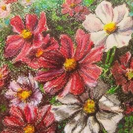 Nina Mitkova - Flowers in the garden