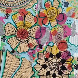 Rosalina Bojadschijew - Flowers in the sky