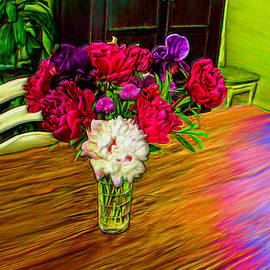 Bruce Nutting - Flowers on the Table
