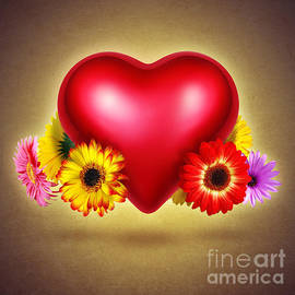 Carlos Caetano - Flowery Heart