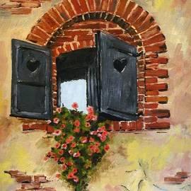 Violeta Oprea - Love of the window