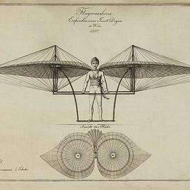 Digital Reproductions - Flugmashine Patent 1807