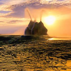 Inge Johnsson - Fly Geyser Sunrise