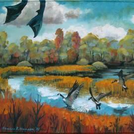 Art Nomad Sandra  Hansen - Flying Geese Feet