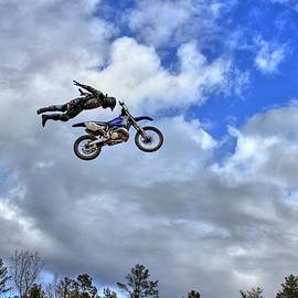 Reid Callaway - Flying High at Durhamtown Not Photoshop