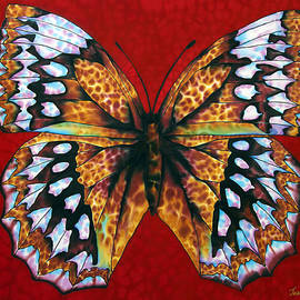 Daniel Jean-Baptiste - Butterfly in Red