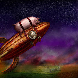 Mike Savad - Flying Pig - Rocket - To the moon or bust