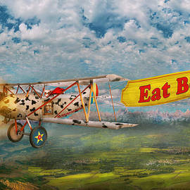 Mike Savad - Flying Pigs - Plane - Eat Beef