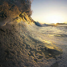 Kyle Morris - Foamy Shorebreak Sunset