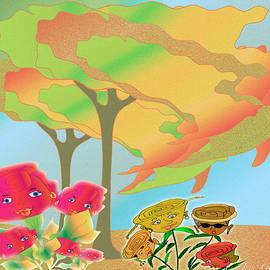 Iris Gelbart - Foggy Autumn Day