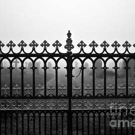 Terri  Waters - Foggy Grave Yard Gates