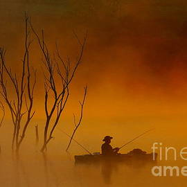 Elizabeth Winter - Foggy Morning Fisherman