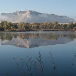 HW Kateley - Foggy Morning - ScottsBluff Monument