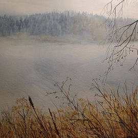 Carol Oberg Riley - Foggy River