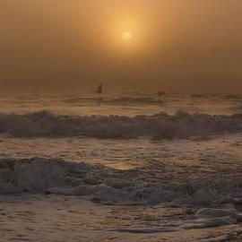 Island Sunrise and Sunsets Pieter Jordaan - Foggy Sunrise