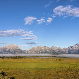 Brian Harig - Foggy Sunrise On The Tetons - Grand Teton National Park Wyoming