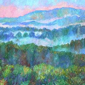 Kendall Kessler - Foggy view from Mill Mountain