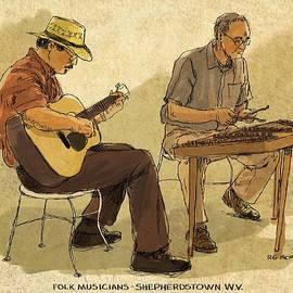 RG McMahon - Folk Musicians