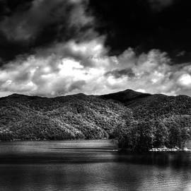Greg and Chrystal Mimbs - Fontana Lake in Black and White