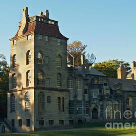 Anna Lisa Yoder - Fonthill Castle in September - Doylestown