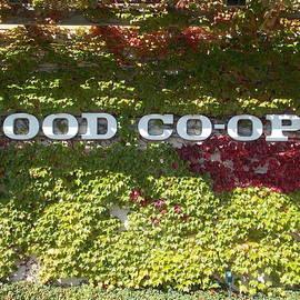Patti Walden - Food Co-Op Sign