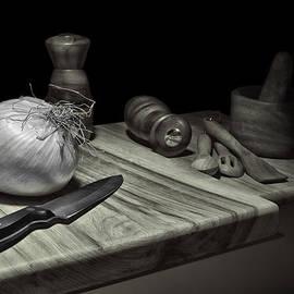 Tom Mc Nemar - Food Prep Still Life