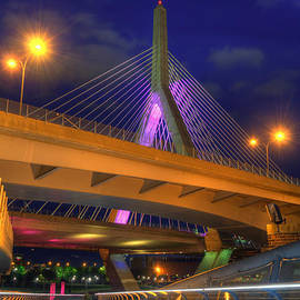 Joann Vitali - Foot Bridge under the Zakim Bridge