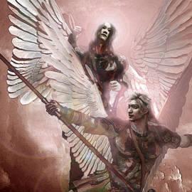 Suzanne Silvir - Forces of Light Saint Rafael and Saint Gabriel