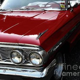JW Hanley - Ford Galaxie 500 Red Classic Convertible