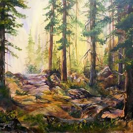 Sherry Shipley - Forest Light II
