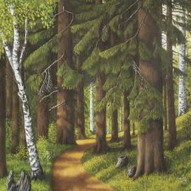 Veikko Suikkanen - Forest road
