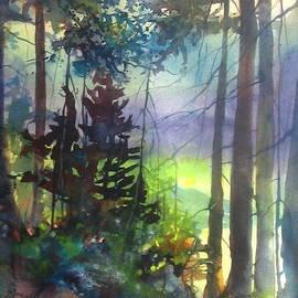 Madelaine Alter - Forest Trail Algonquin Park