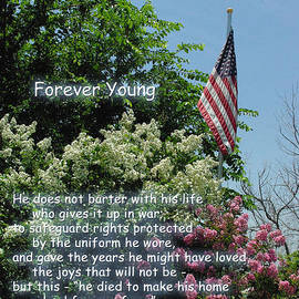 Robyn Stacey - Forever Young Memorial Flag