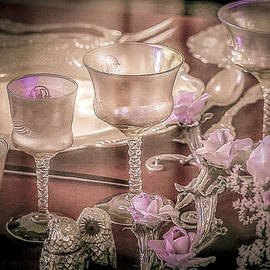 Julie Palencia - Formal Vintage Place Setting