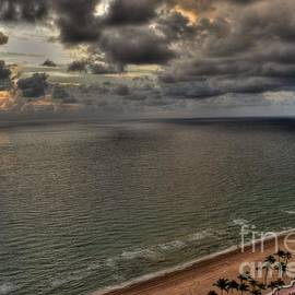 Timothy Lowry - Fort Lauderdale Beach Cloudy