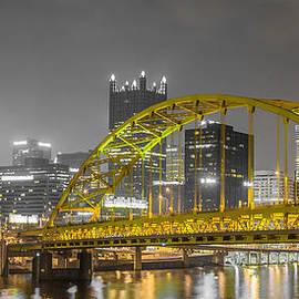John Duffy - Fort Pitt Bridge - Golden Archway